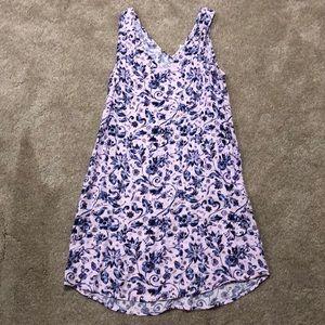 Gap Floral Tank Dress